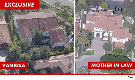 kobe bryant pays vanessa 75 milli and two mansions in