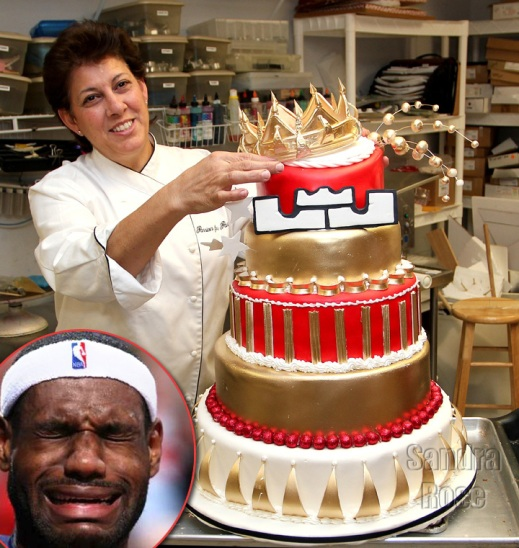 LeBron James Rejected His B-Day Cake Fit For A King