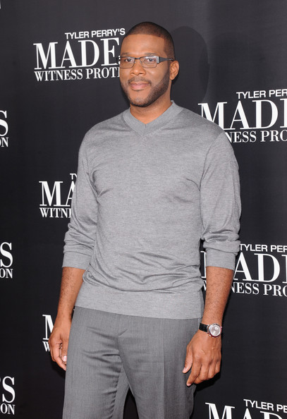 Young Tyler Perry Up with tyler perry at his