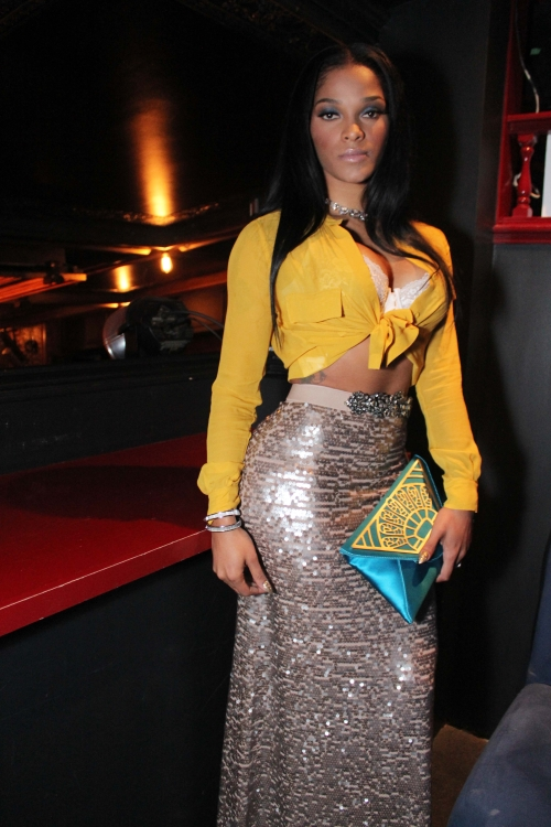 "JOSELINE SAYS ""I DO WHATEVER MY DADDY STEEBIE WANTS ME TO ... K Michelle And Joseline"