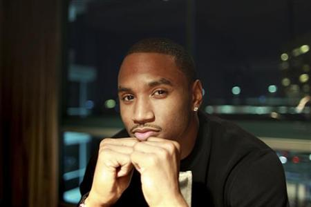 "Singer, rapper and actor Tremaine ""Trey Songz"" Neverson poses in Los Angeles"